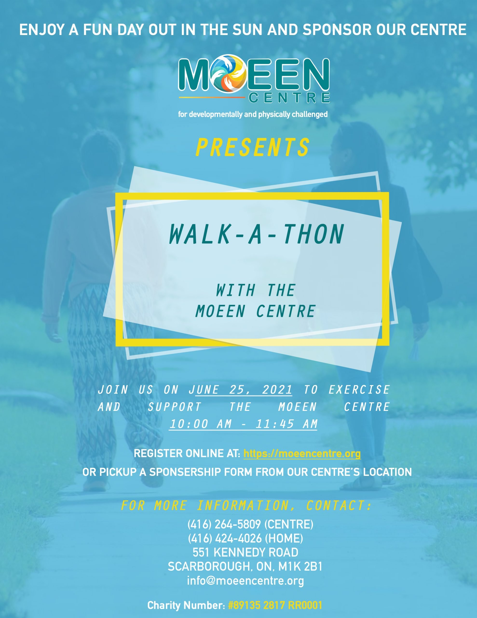 Walk - A - Thon With Moeen Centre